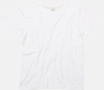 Vit Ekologisk t-shirt för barn