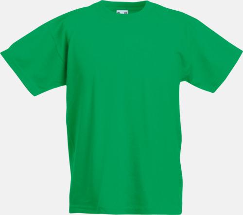 Kelly Green T-shirt barn - Valueweigth barn t-shirt