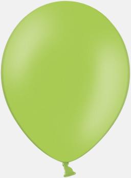 Apple Green 008 (PMS 374) Ballonger med tryck
