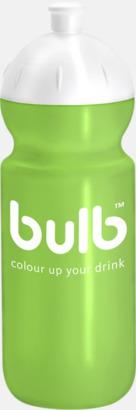 Grön (500 ml) Bulb-vattenflaskor i 4 storlekar med digitaltryck