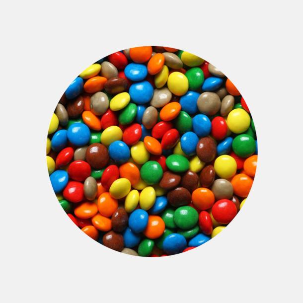 Chokladkonfekt Metallaskar fyllda med godis