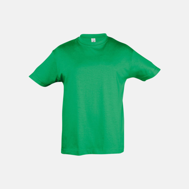 Kelly Green Billig barn t-shirts i rmånga färger med reklamtryck