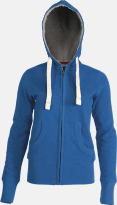 Vintage Blue (dam) Kvalitetströjor i herr- & dammodell med reklamtryck