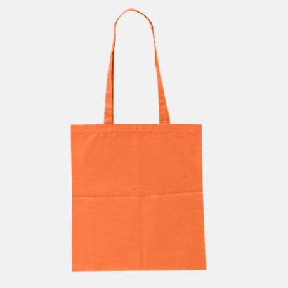 Orange (pms 021U) Billiga tygkassar med tryck