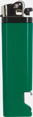 Grön Engångständare med kapsylöppnare - med reklamtryck