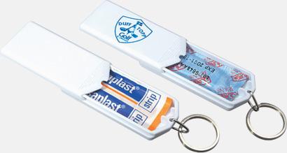 Vit Kondomer i askar med reklamtryck