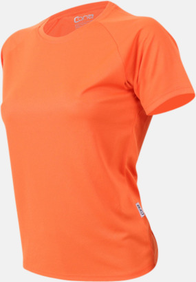 Orange Sport t-shirts i många färger - med reklamtryck