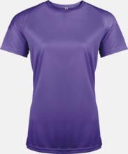 Sport t-shirts i många färger för damer - med reklamtryck