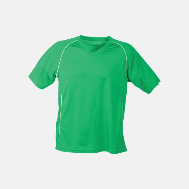 Grön T-shirt i funktionsmaterial