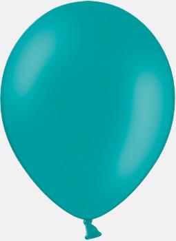 013 Turquoise pms 320 Reklamballonger med fototryck