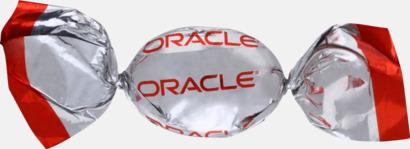 Metallic Fyllda karameller med reklamtryck