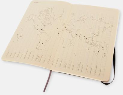 Månadskalendrar i 3 storlekar från Moleskine med reklamtryck