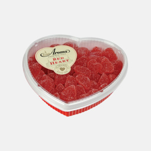 Romantiska askar till alla hjärtans dag med eget tryck