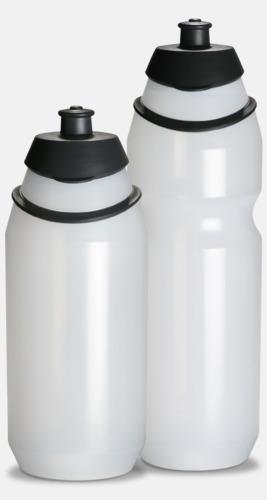 Transparent Vattenflaska med eget tryck