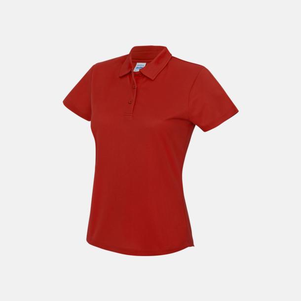 Fire Red Dampikétröjor i många färger - med reklamtryck