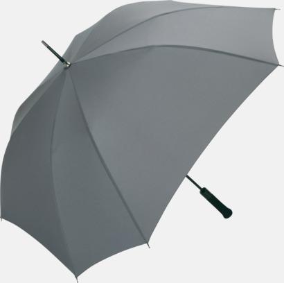 Grå Paraplyer med tryck