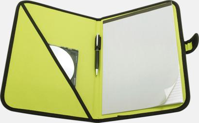 Apple Green Färgglada konferensmappar med eget tryck