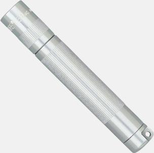 Silver Maglite solitare med egen gravyr