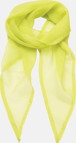 Limegrön Tunna accessoarscarfs i många färger
