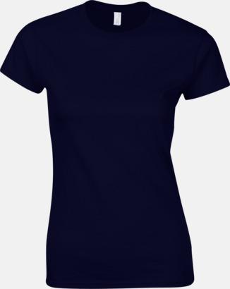Marinblå Billiga t-shirts med tryck
