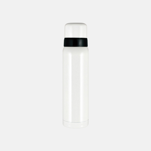 Vit högblank 1 liter termos från Vildmark