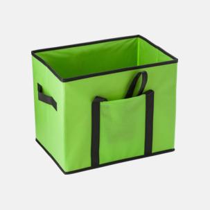 Vikbara bilväskor med reklamtryck