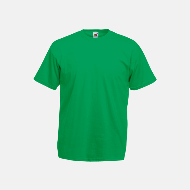 Kelly Green Valueweight t-shirt med tryck