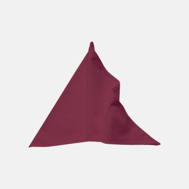Bordeaux Tåliga scarfs med reklamlogo