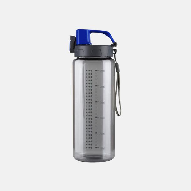 Grå / Blå Sportiga vattenflaskor med eget reklamtryck