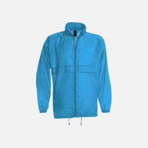 Vind- och vattentäta jackor för dam, herr och barn - med tryck