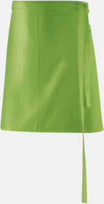 Lemon Green (80 x 45 cm) Förkläden i 5 varianter med reklamtryck