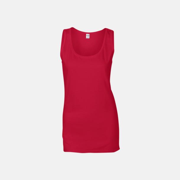 Cherry Red (dam) Bomullslinnen i herr- och dammodell med reklamtryck