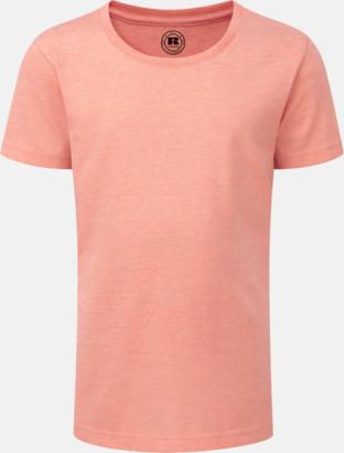 Coral Marl (flicka) Barn t-shirts i u- och v-hals med reklamtryck