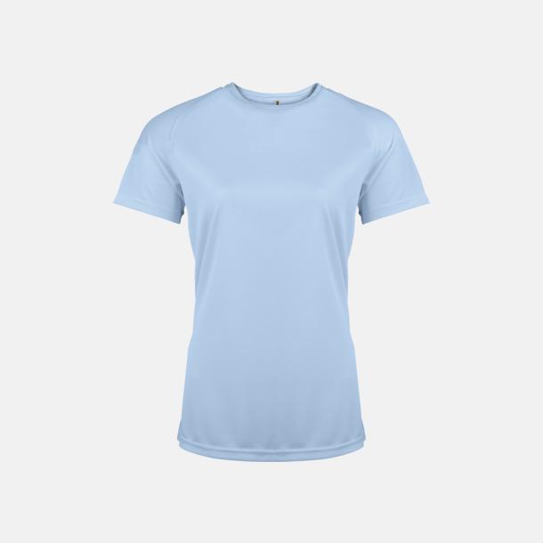 Sky Blue Sport t-shirts i många färger för damer - med reklamtryck