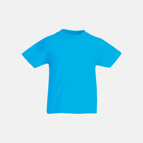 Azure Blue T-shirt barn - Valueweigth barn t-shirt