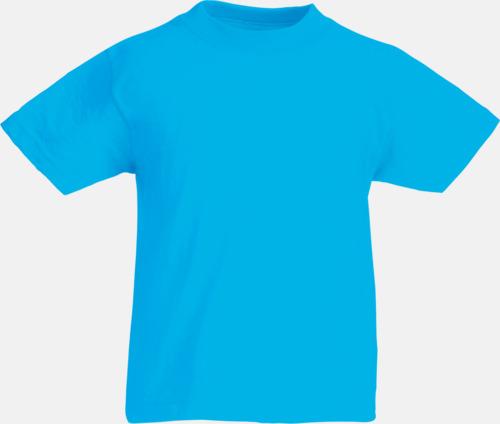 Azure Blue T-shirt barn - Valueweigth barn t-shirt