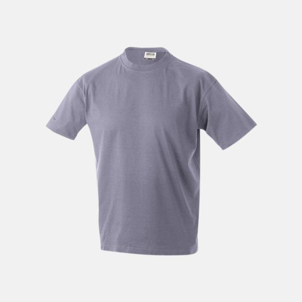 Lilac Barn t-shirtar av kvalitetsbomull med eget tryck