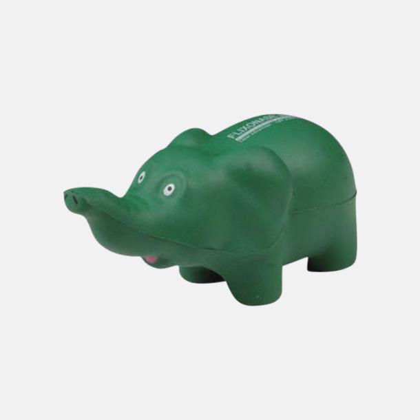 Stressbollar formade som elefanter - med reklamtryck