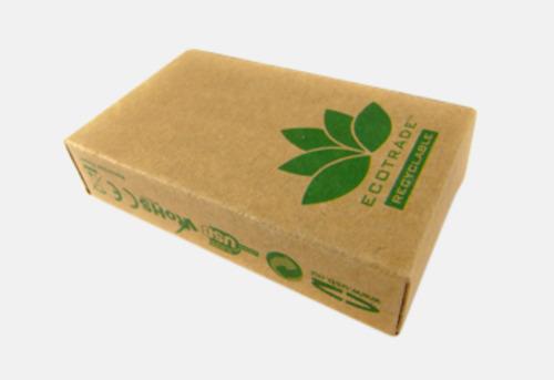 Mijöförpackning Ekologiskt USB-minne med tryck