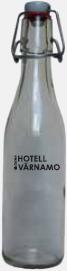 33 cl (patentkork) Tomma glasflaskor i flera storlekar med reklamtryck
