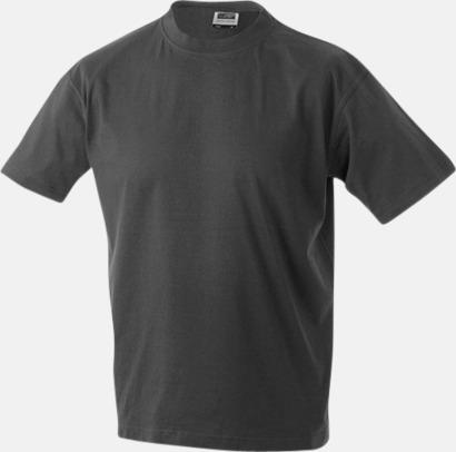 Graphite Barn t-shirtar av kvalitetsbomull med eget tryck