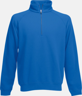 Royal Blue Sweatshirt med tryck