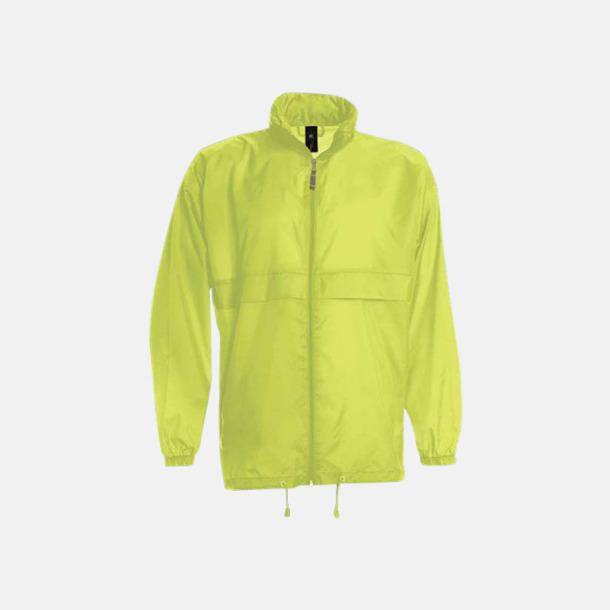 Ultra Yellow (unisex) Vind- och vattentäta jackor för dam, herr och barn - med tryck