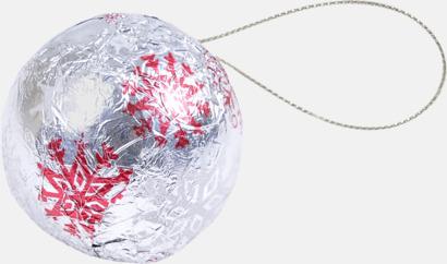 Julgranskulor av choklad
