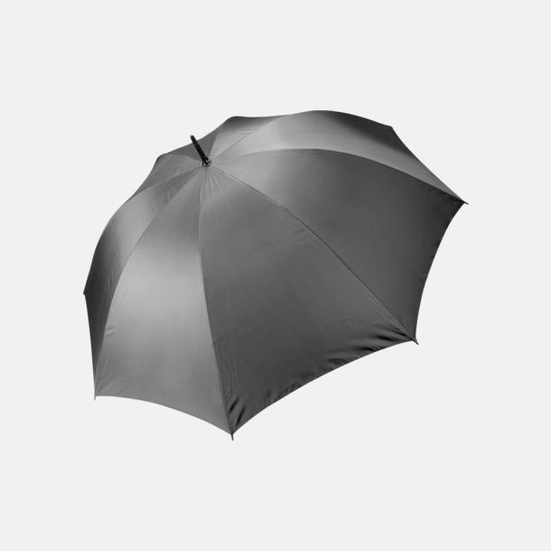 Slate Grey Stormsäkra, 2-färgade paraplyer med reklamtryck