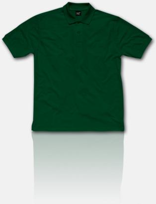 Bottle Green Fina pikétröjor för herr, dam & barn med reklamtryck