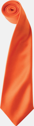 Orange Slipsar i supermånga färger