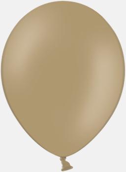 Almond (PMS 4675) Ballonger med tryck