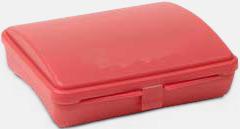 Röd First Aid Case - Med tryck