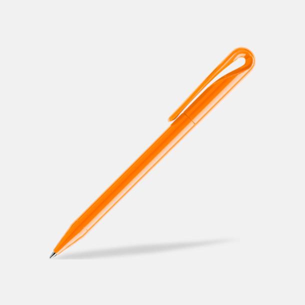 Orange (polished) Frostade eller solida reklampennor med egen logga från Schweiziska Prodir